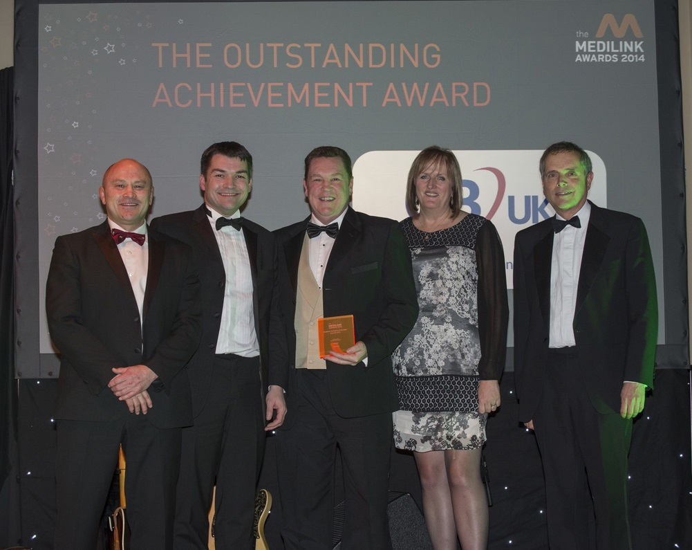 GBUK Win Outstanding Achievement Award