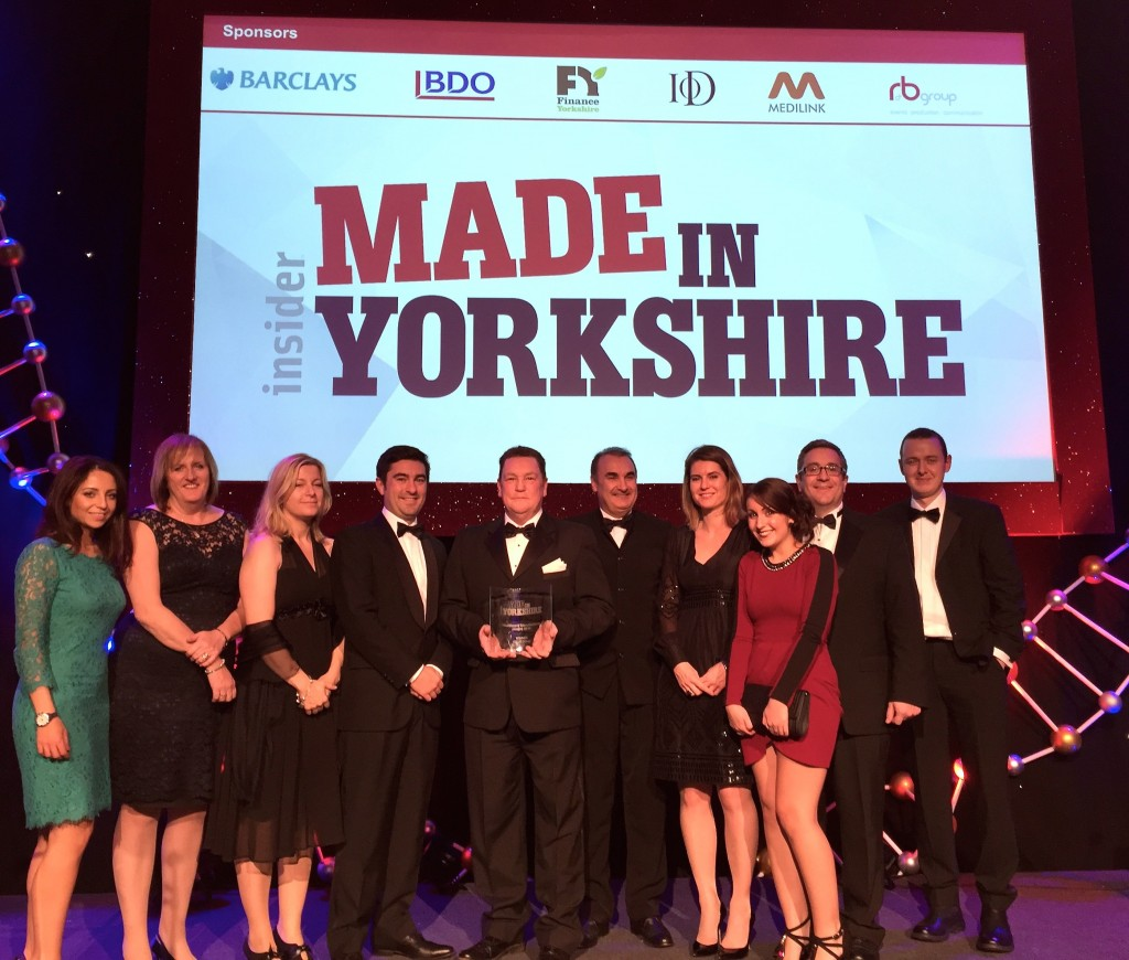 GBUK wins Made in Yorkshire Award