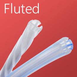 Fluted